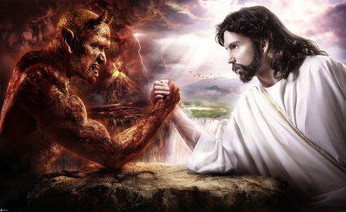 gesu vs satana, battaglia, bene e male 149086