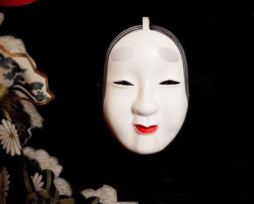 Full-Face-Japanese-Noh-Hand-Painted-Koomote-Demon-Cosplay-Mask-Masquerade-Kabuki-Party-Carnival-High-Quality